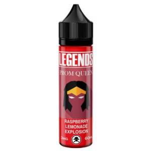 Legends Prom Queen Pink Lemonade Explosion 50ml Shortfill E-Liquid