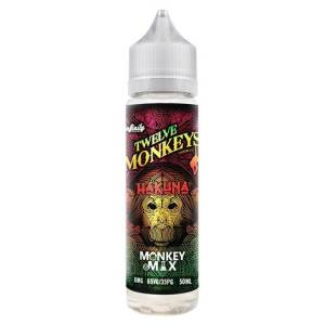 Twelve Monkeys Hakuna 50ml Shortfill E-Liquid