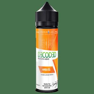 Decoded Area 51 50ml Shortfill E-Liquid