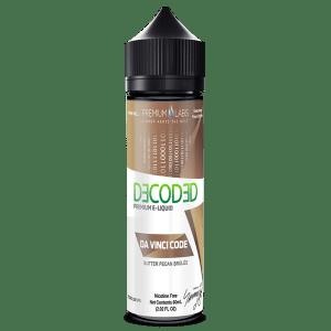 Decoded Davinci Code 50ml Shortfill E-Liquid