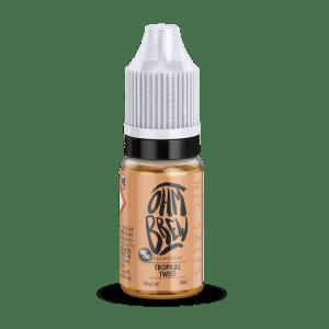Ohm Brew Tropical Twist 10ml Nic Salt E-Liquid