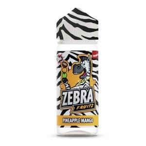 Zebra Fruitz Pinapple Mango 50ml Shortfill E-Liqudi
