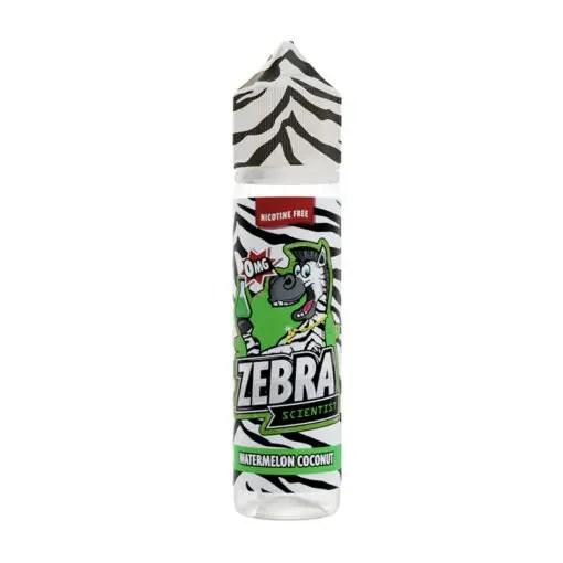 Zebra Scientist Watermelon Coconut 50ml Shortfill E-Liquid