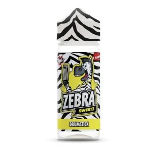 Zebra Sweetz Drumstick 50ml Shortfill E-Liquid