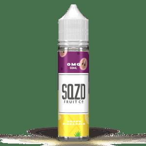 SQZD Fruit Co Grape Pineapple 50ml Shortfill E-Liquid