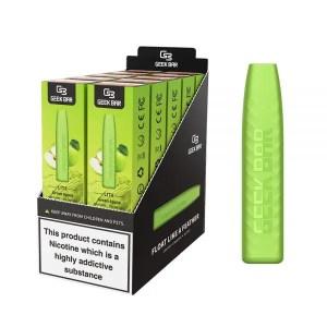 Geek Bar Lite Green Apple Disposable Puff Bar