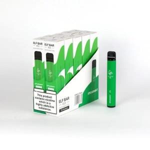 Elf Bar 600 Spearmint Disposable Puff Bar 20mg