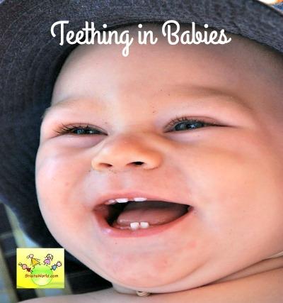 Teething in babies- Symptoms & Remedies