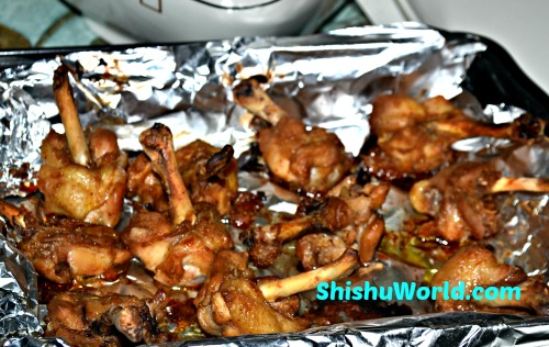 24 protein rich recipes for kids vegetarian and non vegetarian baked chicken lollipops forumfinder Choice Image