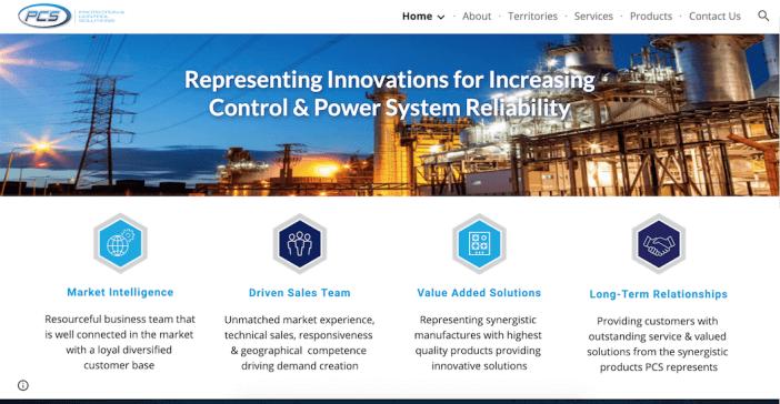 PCS website