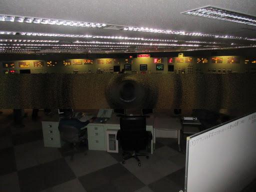 第二原発制御室