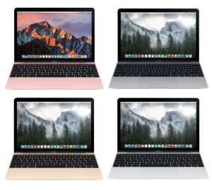 MacBook 4 Colors