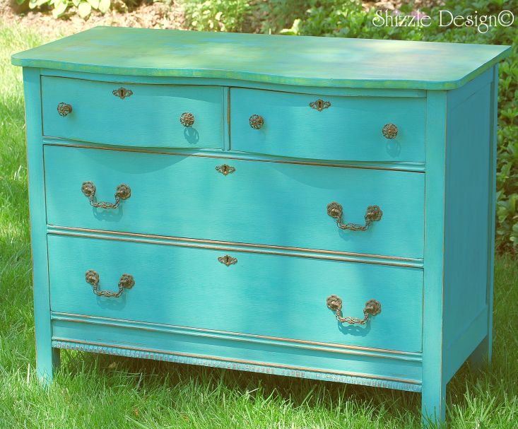 Shizzle design whimsical cottage style dresser for Spring hill designs bedroom furniture