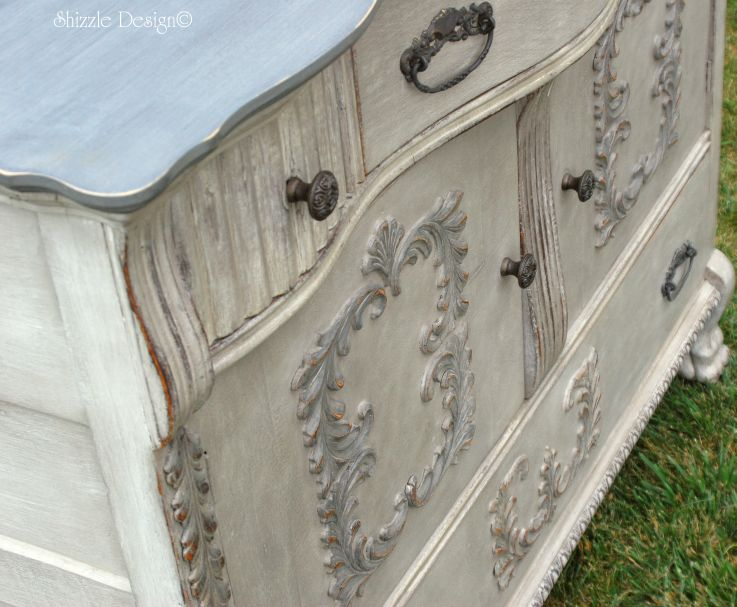 28 Jun Vintage Buffet Layered in Rich Color ~ One of my all time favorite  Pieces - Shizzle Design Vintage Buffet Layered In Rich Color ~ One Of My