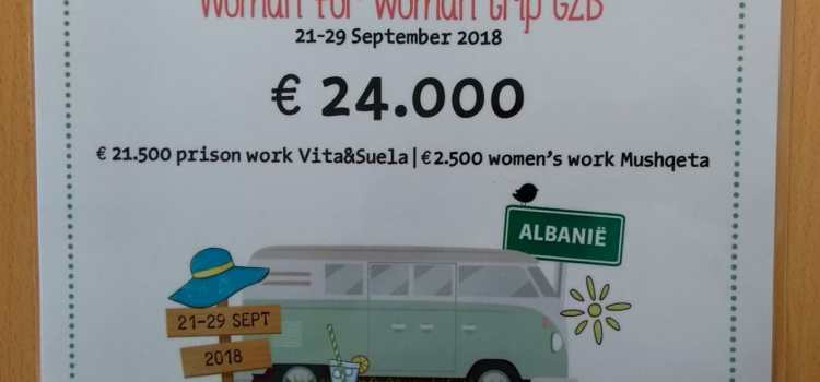 Dutch women bring huge support to Albania