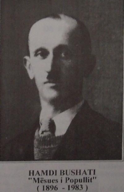 Hamdi Bushati - mësues i popullit