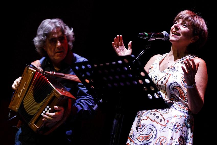 Ambrogio Sparagna e Anna Rita Colaianni