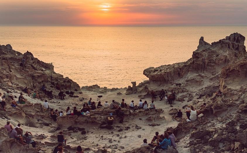 Creuza de Mà 2020 Carloforte Concerto al tramonto alle Ciasette 📷 Sara Deidda