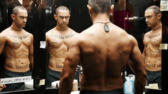 aamir khan body in ghajini - IPL, Bollywood and Girls