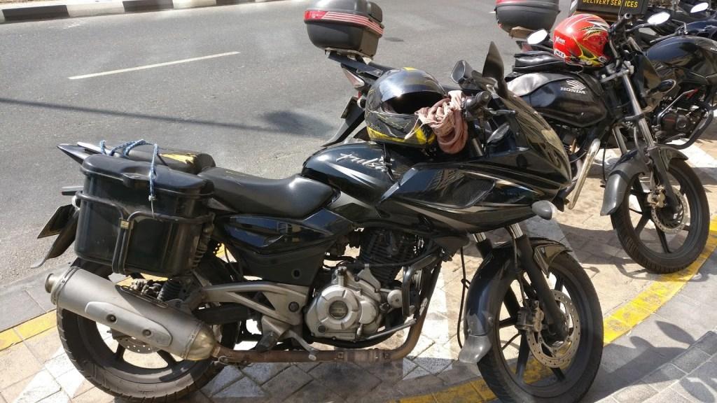dubai motorcycle