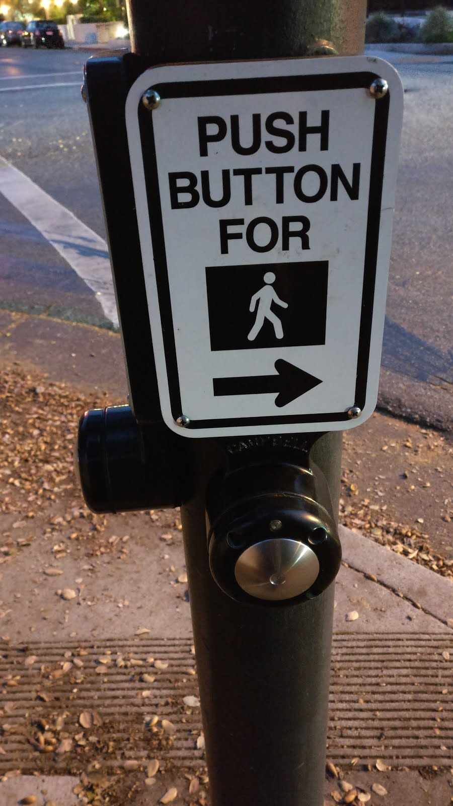 button to cross the road - Silicon Valley in pictures
