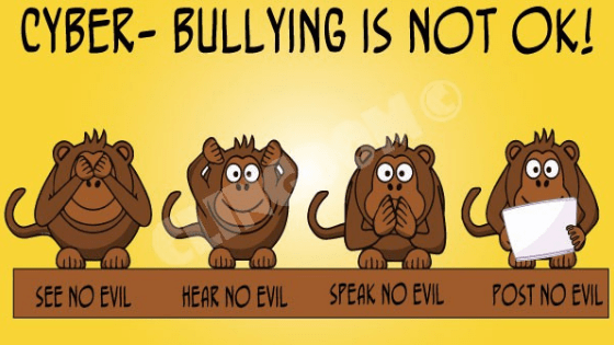 cyber bullying is not okay - Digital India vs Cyber Bullies