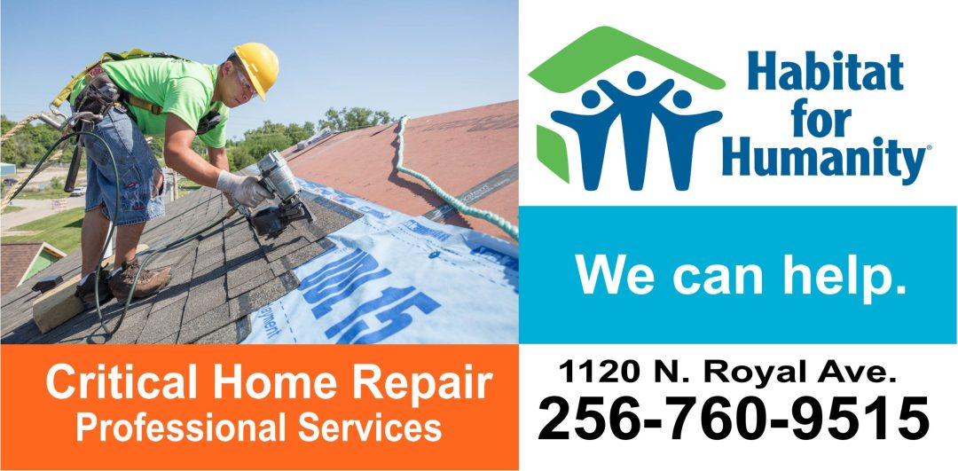 habitat repair billboard