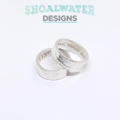 Coin RIng Engraving