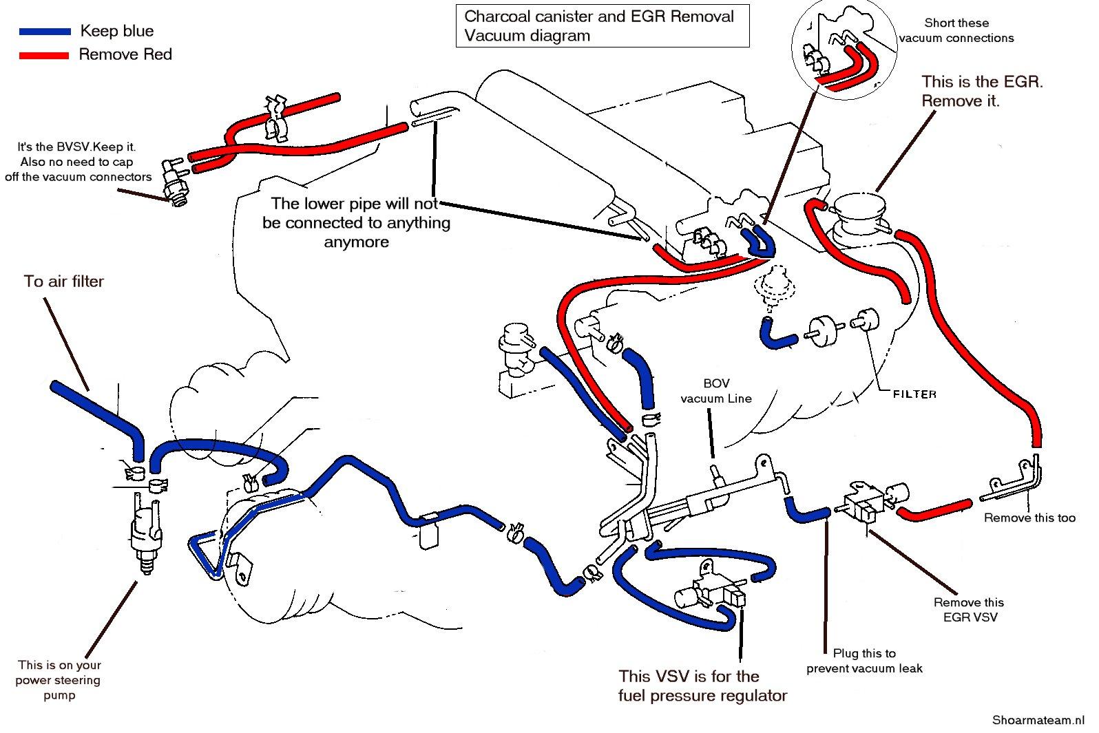 7m gte egr less vacuum routing \u2013 shoarmateam 1jz Gte Engine Vacuum Diagram