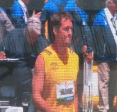 Mazanec at the 2012 Olympic Trials