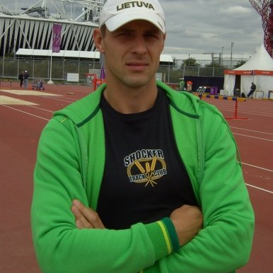Darius Draudvila at the 2012 London Olympics