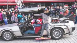 Défilé du père noël 2015 - Montréal - Retour vers le futur