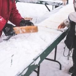 Fête des neiges 2016 - Tir d'érable