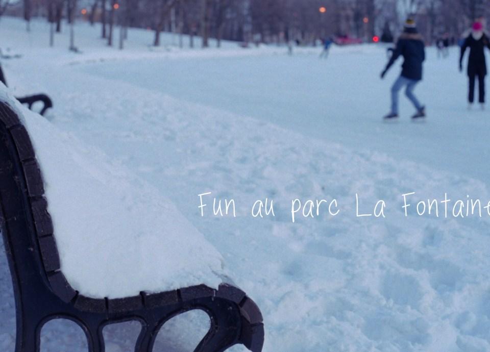 Fun au Parc La Fontaine - Bannière