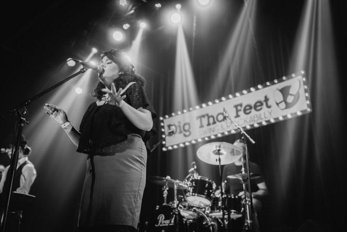 Photo du festival Dig Tha' Feet 2018, le vendredi 2 février au Théatre Plaza, Montréal