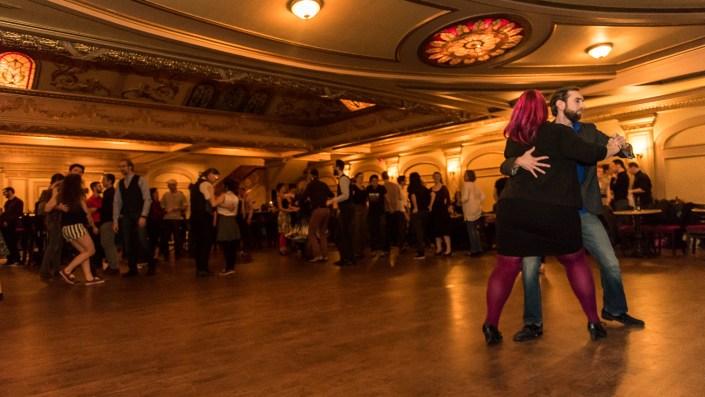 Photo de la soirée du Rialto Swing du 29 Décembre 2016, au Théatre Rialto de Montréal
