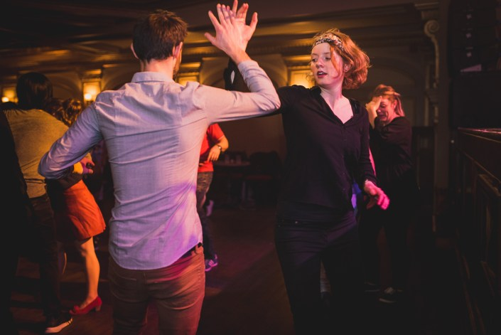 Photo de la soirée du Rialto Swing du 22 Février 2018, au Théatre Rialto de Montréal