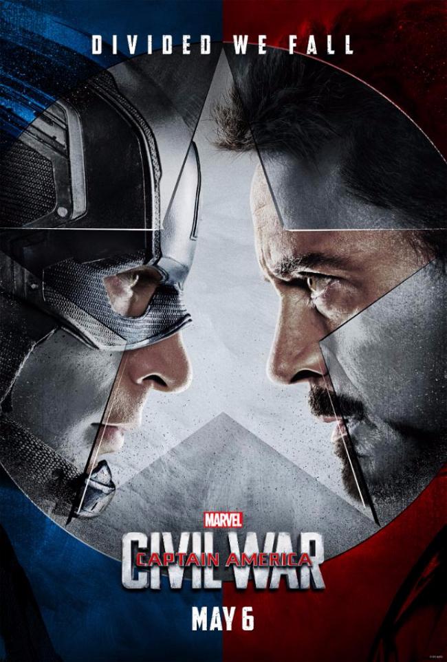 Image result for cap civil war movie poster