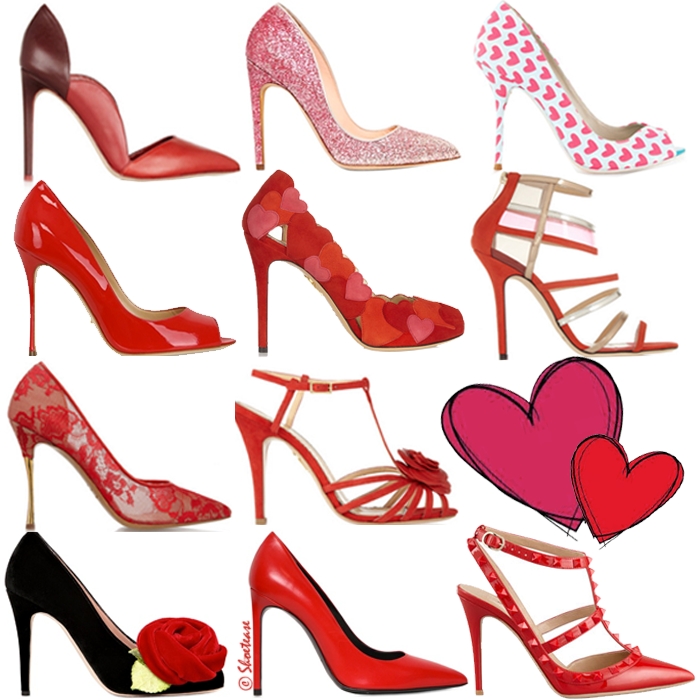 Prettiest Valentines Day Shoes