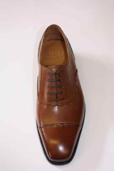 En brun plain cap toe-oxford är obligatorisk för alla kvalitetsskotillverkare. Bild: Louis Copeland