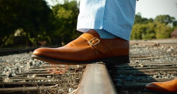 Single monks från Herring Shoes. Bild: Gentlemen's Gazzette