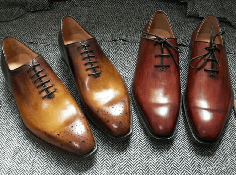 Läcker patinering, särskilt med tanke på att skorna inte kostar mer än 2000 kronor.