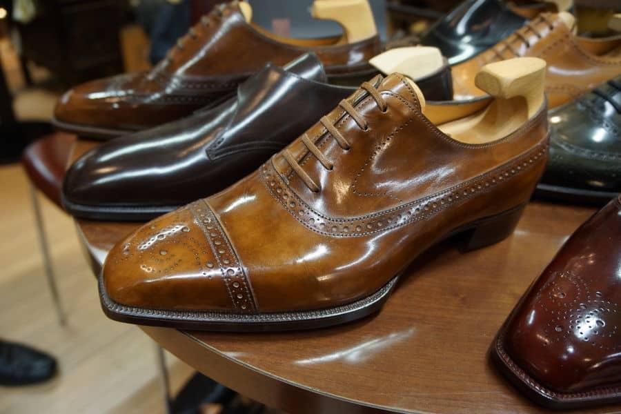 Ovansidorna på skorna är inte fy skam heller (även översta bilden är på Yohei Fukudas skor). Bilder: Shoe Aristocat