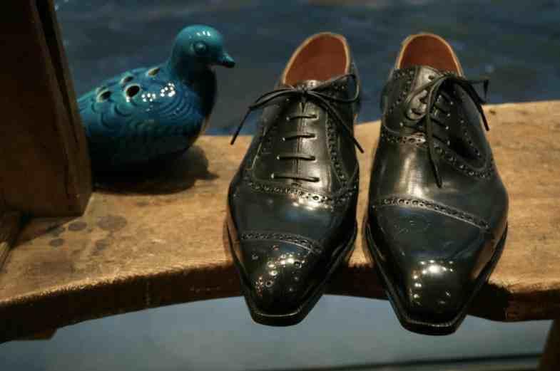 Många av Hidetaka Fukayas skor är nästan mer experiment och konstverk.