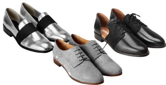 H&M schoenen zomer 2014. Bekijk hier alle H&M schoenen 2014: budget proof, trendy en fashionable. De brogues en loafers van leer zijn helemaal te gek.
