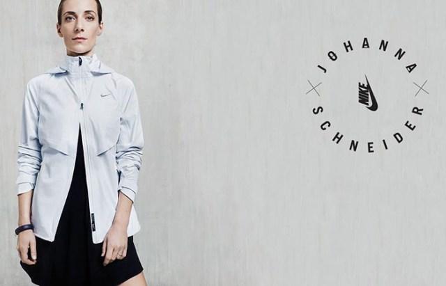 Johanna Schneider werkt samen met Nike. Sportmerk Nike werkt samen met designer Johanna Schneider. Limited edition collectie vanaf 26 februari.