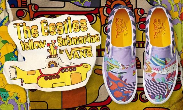 Vans x The Beatles collectie sneakers. Lees hier alles over de samenwerking tussen Vans x The Beatles. Een limited collectie vanaf maart 2014.