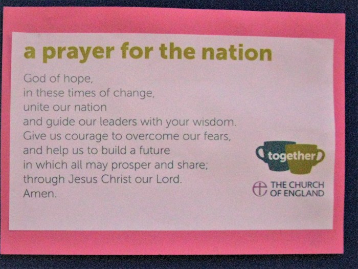 Prayer for the Nation - Newcastle Cathedral