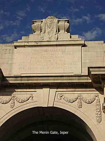 The Menin Gate, Ieper/Ypres