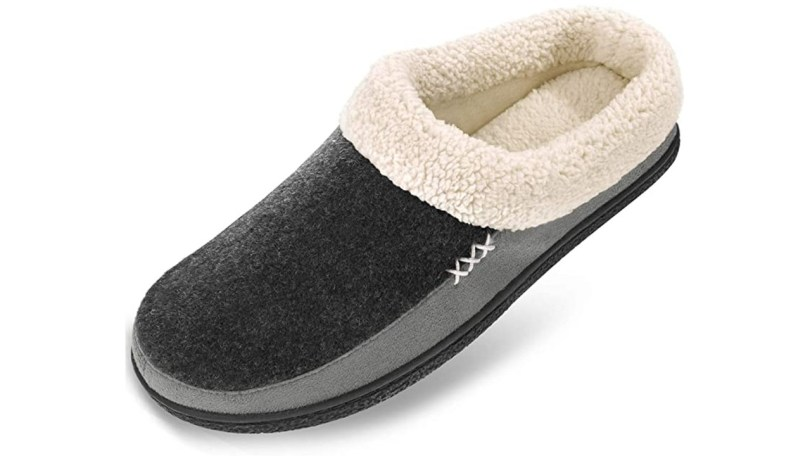 Men's Slippers Fuzzy House Shoes